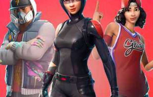 The loading screen is on Fortnite materials