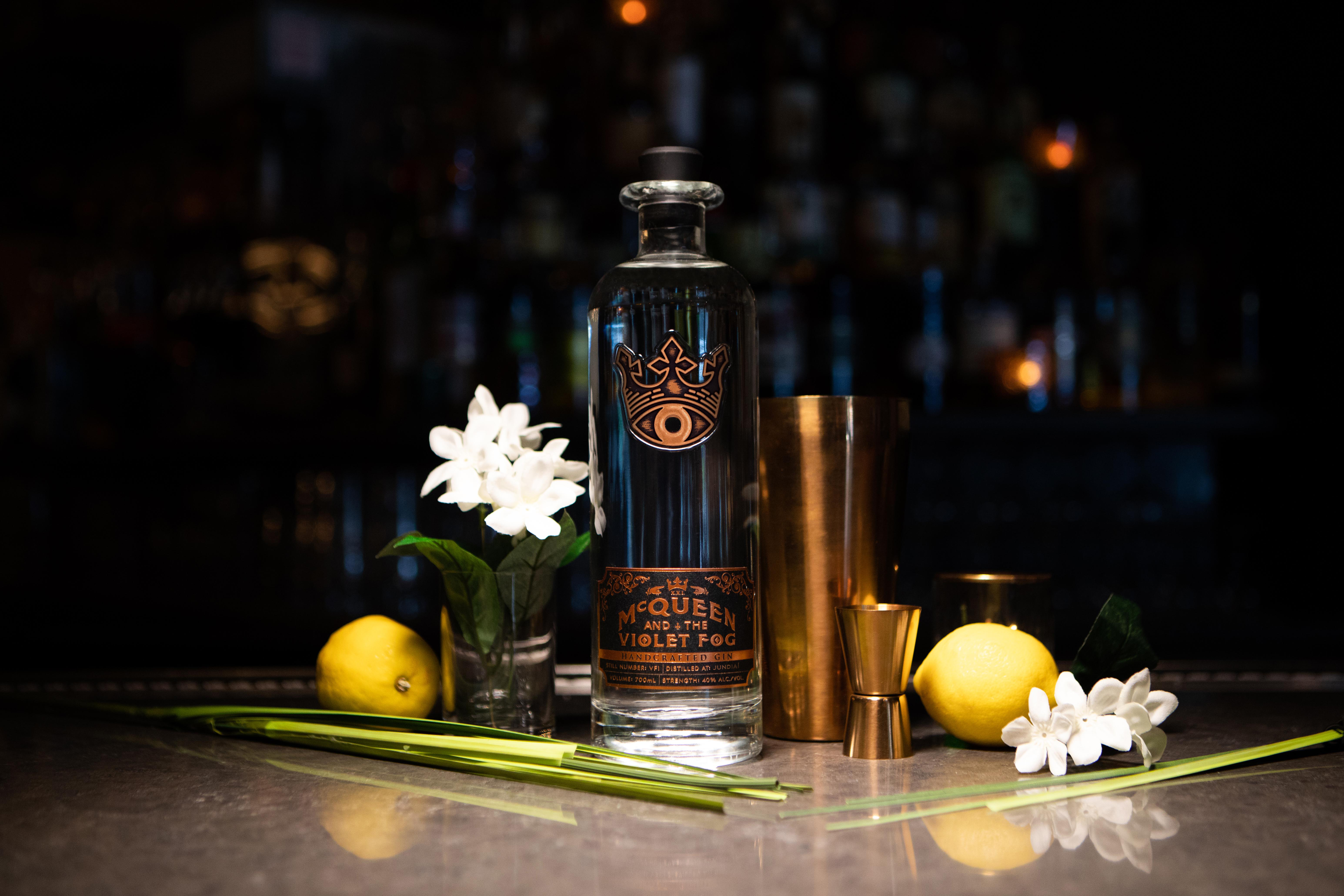 Sovereign Brands launches McQueen and the Violet Fog gin; eyes travel retail