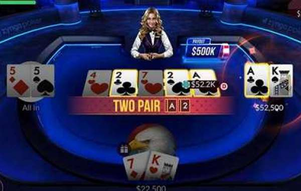 Apple has re-released its Texas Hold'em game for iOS