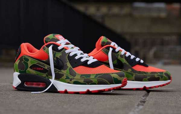 Nike Air Max 90 Reverse Duck Camo is Available Now
