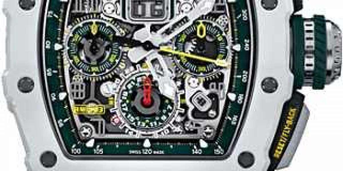 Richard mille extra flat titanium fake watch