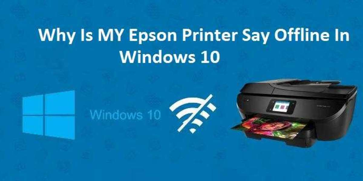 How To Fix Epson Printer Offline Windows 10