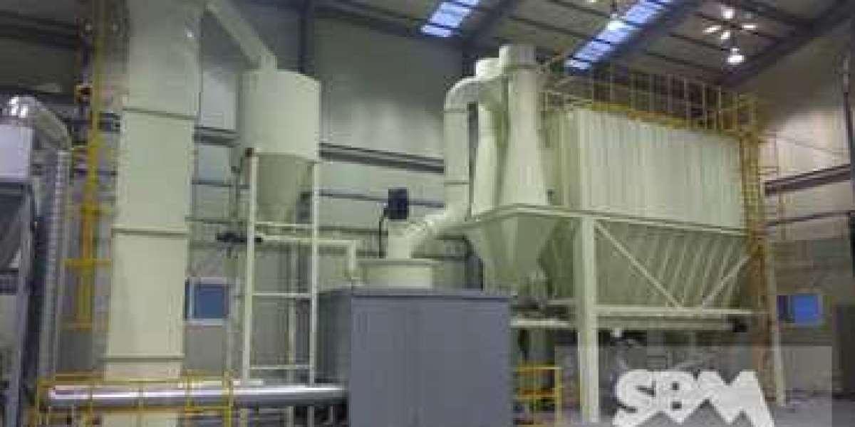 Carbon Black Vertical Roller Mill