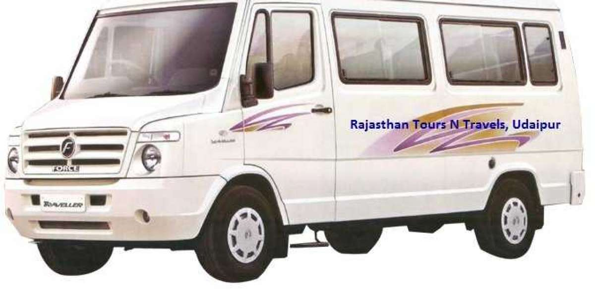 Tempo Traveller rental in Udaipur