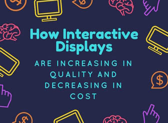 How Interactive Displays are Increasing in Quality, Decreasing in Cost | Intuiface Blog