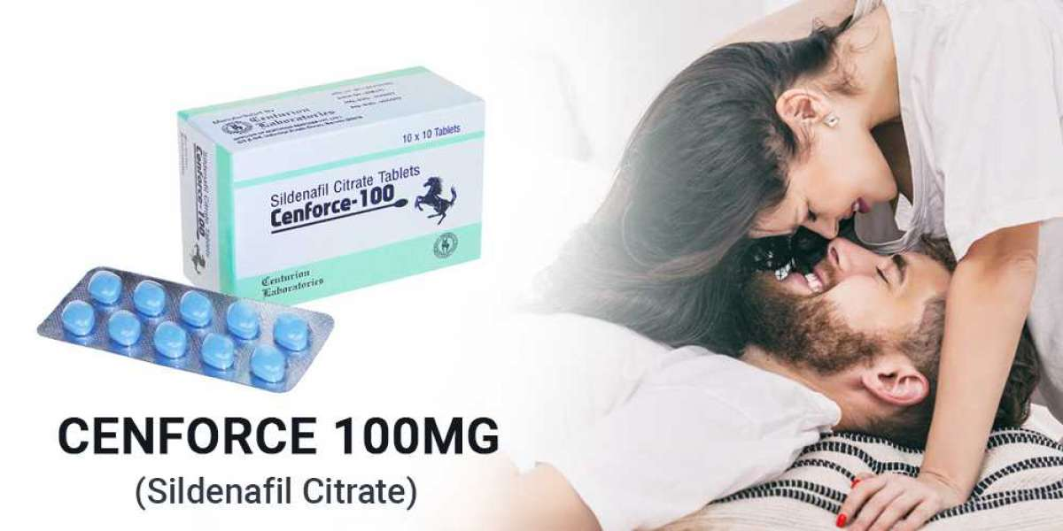 Relief from Erectile Dysfunction by using Cenforce 100