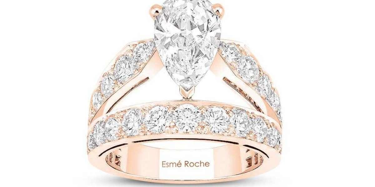 Esmé Roche l Conflict-Free Moissanite Rings