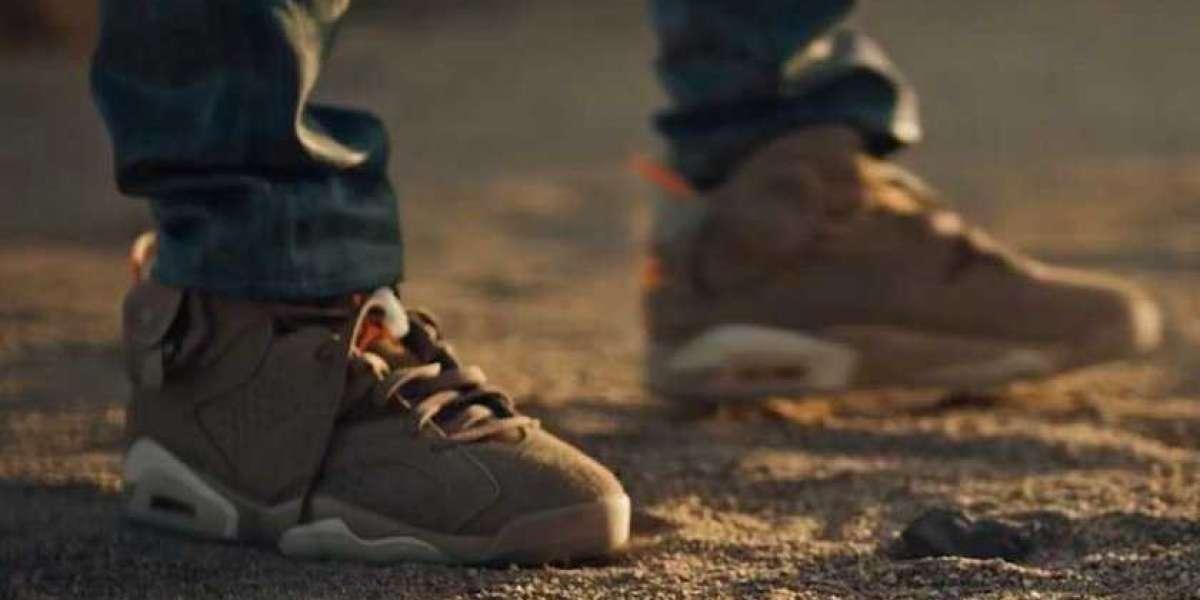 """Latest Travis Scott x Air Jordan 6 """"British Khaki"""" DH0690-200"""