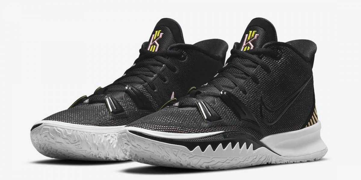 "Newest 2021 Nike Kyrie 7 ""Ripple Effect"" CQ9326-005"