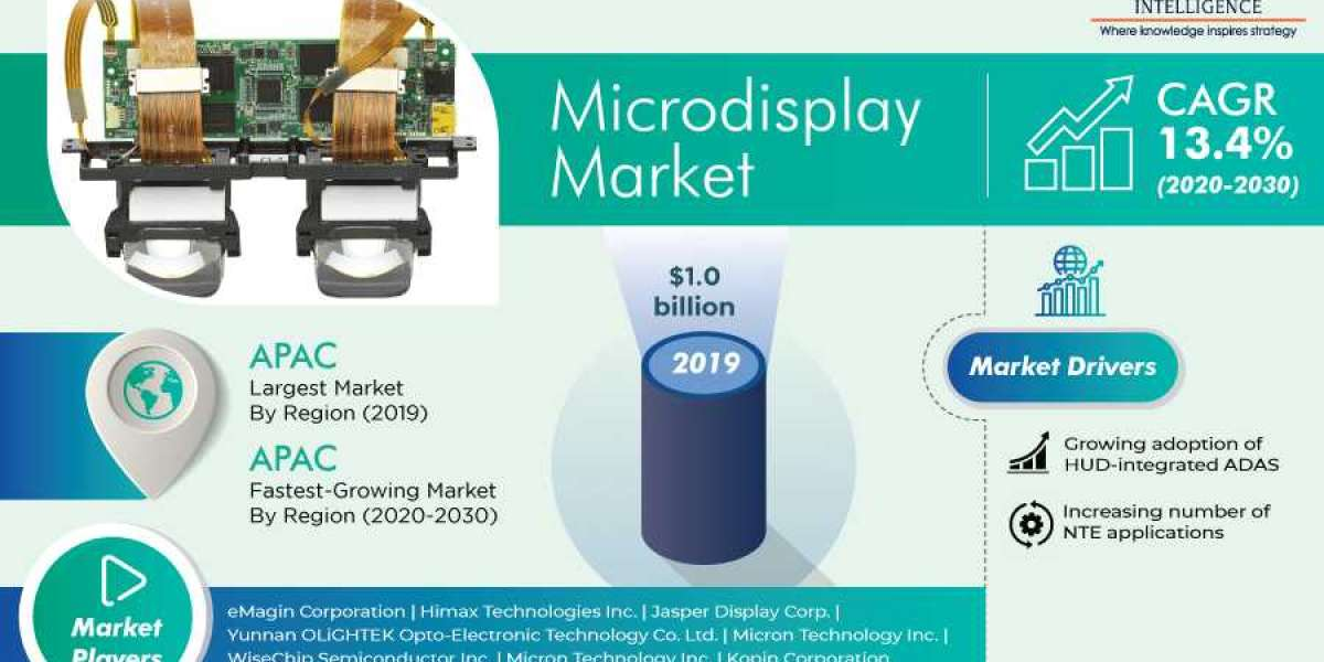Microdisplay Market Competitive Landscape, Insights by Geography, and Growth Opportunity